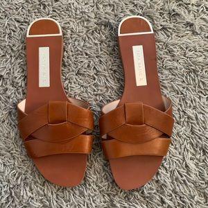 Zara basic tan sandals size 37